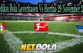 Prediksi Bola Leverkusen Vs Hertha 29 November 2020