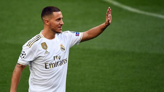 Eden Hazard Kembali Alamai Cedera Di Real Madrid