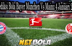 Prediksi Bola Bayer Munchen Vs Mainz 4 Januari 2021