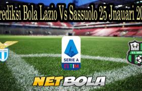 Prediksi Bola Lazio Vs Sassuolo 25 Jnauari 2021