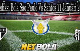 Prediksi Bola Sao Paulo Vs Santos 11 Januari 2020