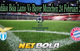 Prediksi Bola Lazio Vs Bayer Munchen 24 Februari 2021