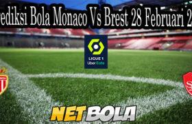 Prediksi Bola Monaco Vs Brest 28 Februari 2021