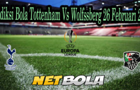 Prediksi Bola Tottenham Vs Wolfssberg 26 Februari 2021
