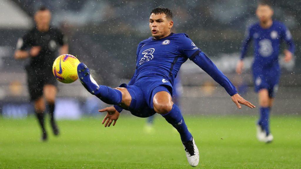 Thiago Silva Akan Teken Kontrak Baru Dengan Chelsea
