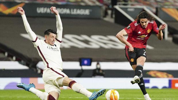 Cavani Putuskan Berlanjut di Manchester United Netbola.com