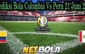 Prediksi Bola Colombia Vs Peru 21 Juni 2021