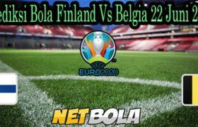 Prediksi Bola Finland Vs Belgia 22 Juni 2021