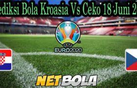 Prediksi Bola Kroasia Vs Ceko 18 Juni 2021