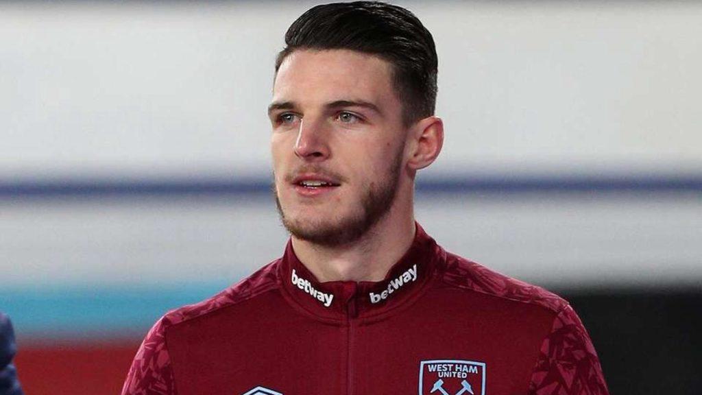 MU dan Chelsea Bersaing Dapatkan Declan Rice Dari West Ham