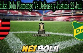 Prediksi Bola Flamengo Vs Defensa y Justicia 22 Juli 2021