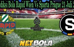 Prediksi Bola Rapid Wien Vs Sparta Prague 21 Juli 2021