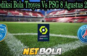 Prediksi Bola Troyes Vs PSG 8 Agustus 2021