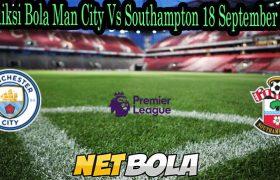 Prediksi Bola Man City Vs Southampton 18 September 2021