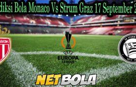 Prediksi Bola Monaco Vs Strum Graz 17 September 2021