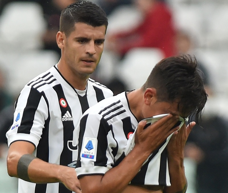 Kabar Buruk Juventus Dybala dan Morata Cedera